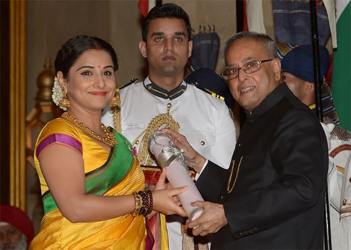 Vidya Balan Padma Shri Award