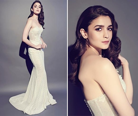 Alia Bhatt At Lux Golden Rose Awards 2018