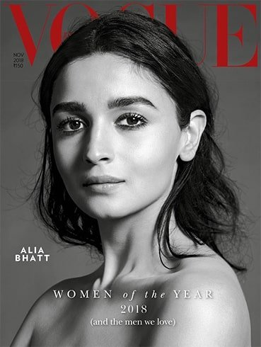 Alia Bhatt Vogue India November 2018