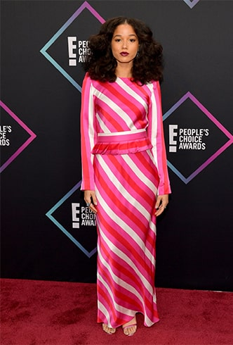 Alisha Wainwright Peoples Choice Awards 2018