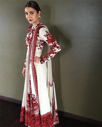 Anushka Sharma Sabyasachi Anarkalis