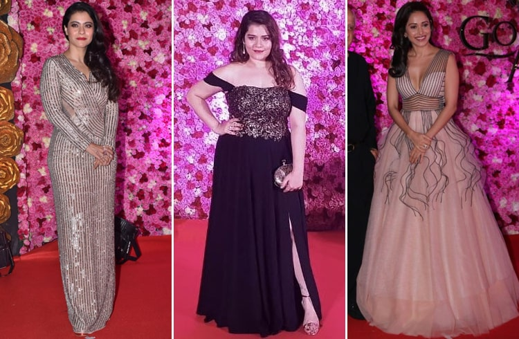 Bollywood At Lux Golden Rose Awards 2018
