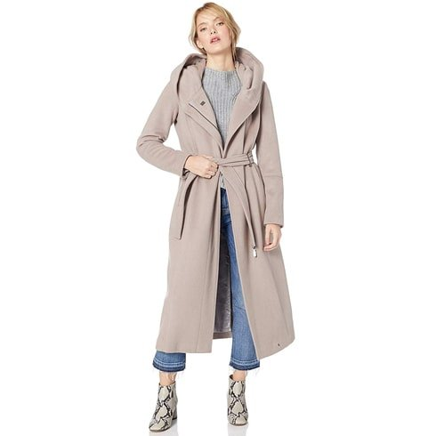 Calvin Klein Maxi Wool Length Jacket
