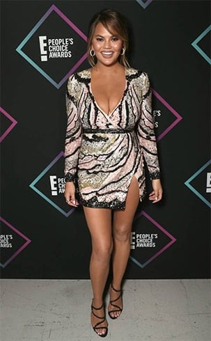Chrissy Teigen Peoples Choice Awards 2018