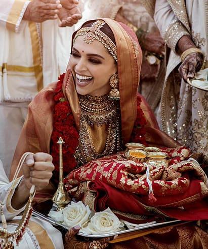 Deepika Padukone Bridal Look