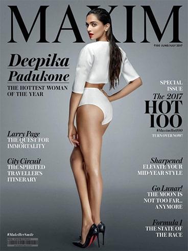 Deepika Padukone Magazine