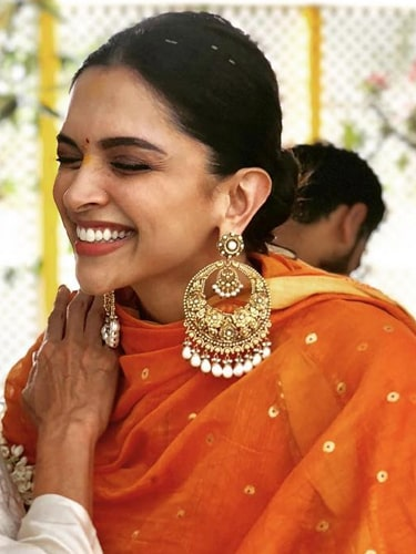 All From Deepika And Ranveer's Engagement, Mehndi And ...