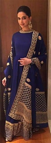 Deepika Padukone Sabyasachi Anarkali