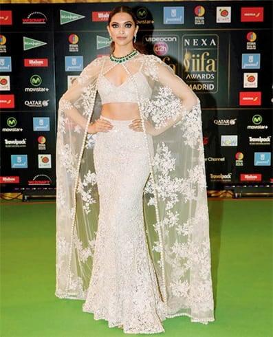 Deepika Padukone Sabyasachi Mukherjee Gowns
