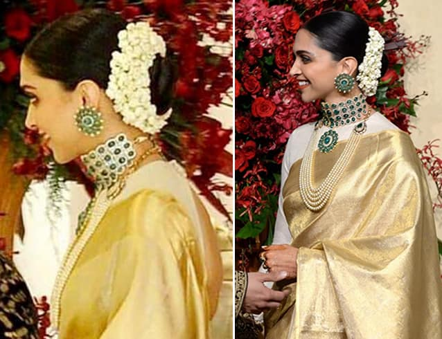 Deepika Padukone Wedding Hairstyles