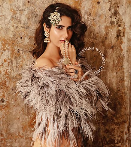 Fatima Sana Shaikh Femina Wedding Times Shoot
