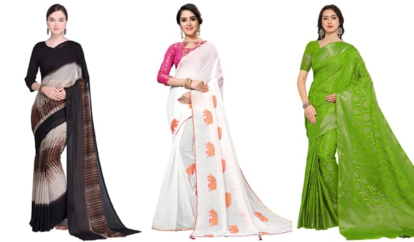 Formal Sarees For Office