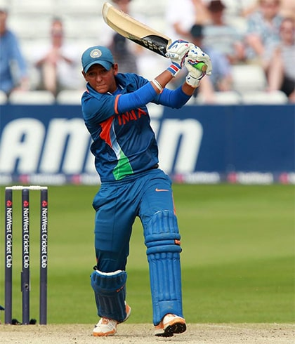 Harmanpreet Kaur Playing