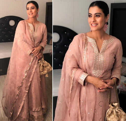 Kajol at Diwali Party