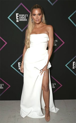 Khloe Kardashian Peoples Choice Awards 2018