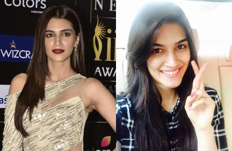 Kriti Sanon Without Makeup