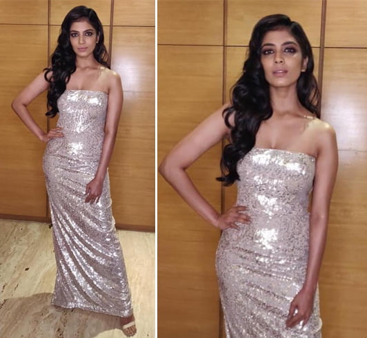 Malavika Mohanan asiaSpa Fit and Fabulous Awards 2018