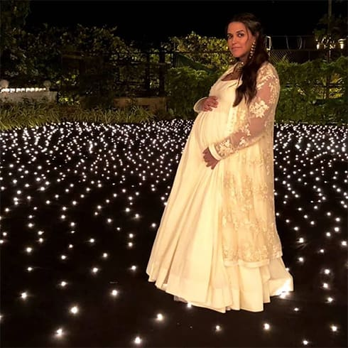 Neha Dhupia at Diwali Party