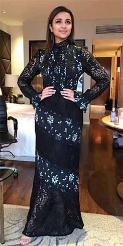 Parineeti Chopra Floral Maxi Dress