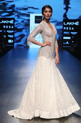 Pooja Hegde Ridhi Mehra Gown
