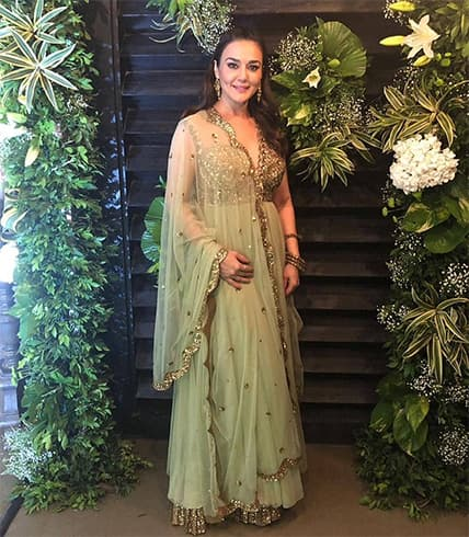 Preity Zinta Diwali Party
