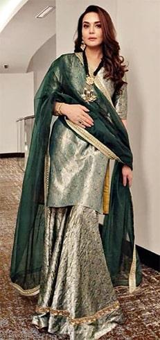 Preity Zinta Raw Mango kurta