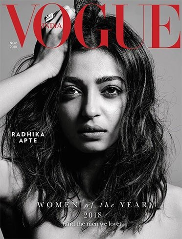 Radhika Apte Vogue India November 2018