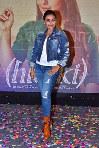 Rani Mukherjee Hichki Promotions