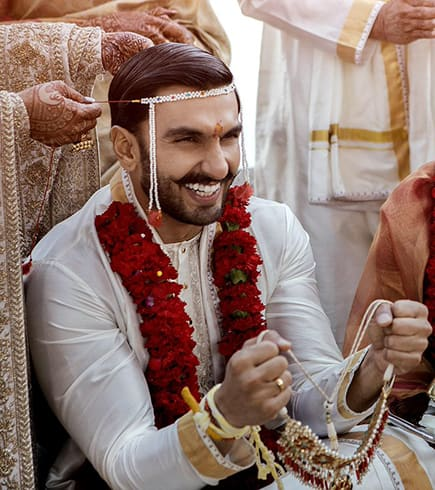 Ranveer Singh Wedding Dress