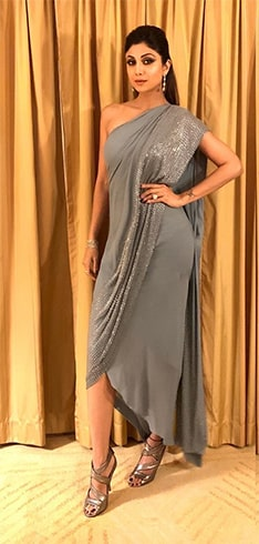 Shilpa Shetty Rohit Gandhi and Rahul Khanna label