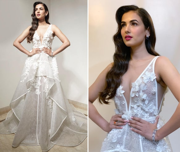 Sonal Chauhan At Lux Golden Rose Awards 2018