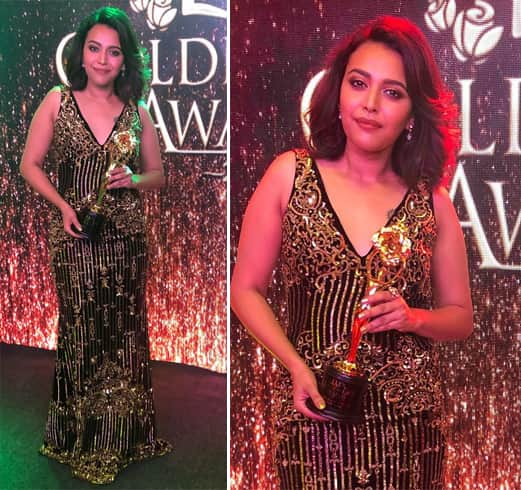 Swara Bhaskar At Lux Golden Rose Awards 2018