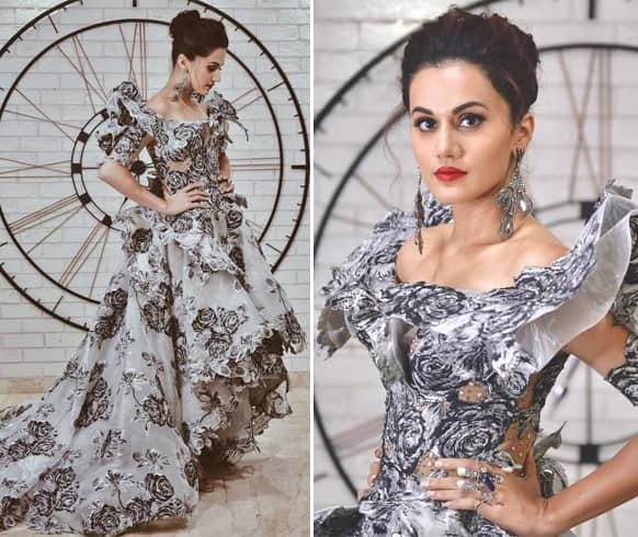 Taapsee Pannu At Lux Golden Rose Awards 2018
