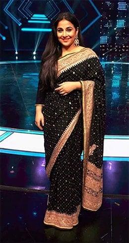 Vidya Balan in Ritu Kumar Saree