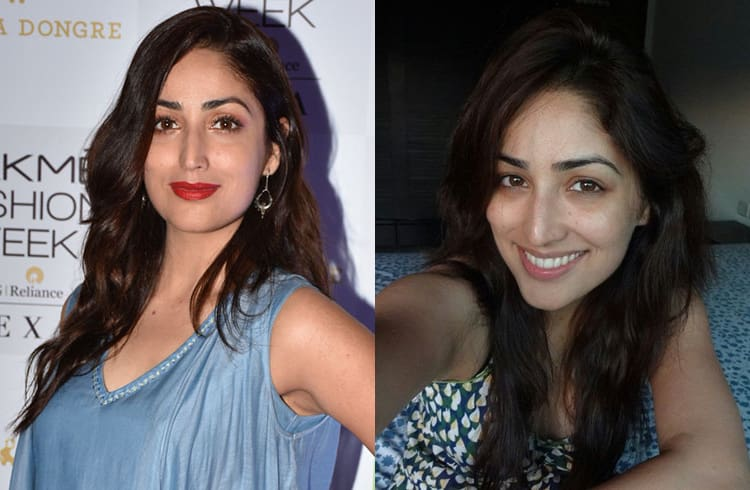 Yami Gautam Without Makeup