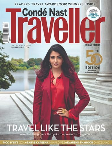 Aishwarya Rai on Conde Nast Traveller
