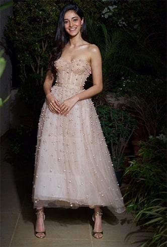 Ananya Panday at Deepika Ranveer Reception