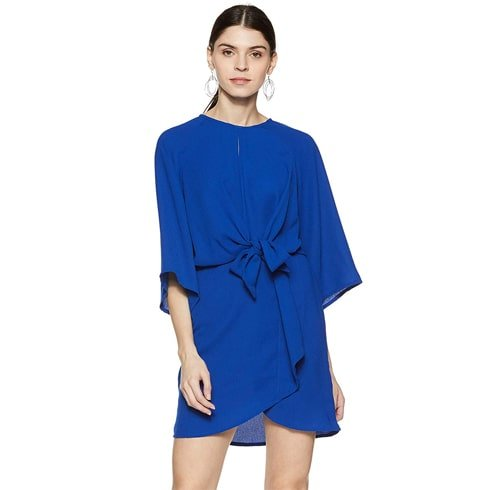 Bright Blue Shift Dress