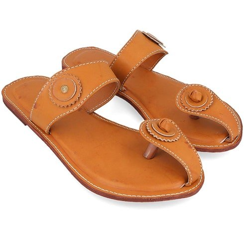 Brown Lightweight Kolhapuri Chappals