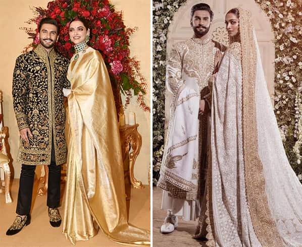 Deepika Padukone and Ranveer Singh Reception
