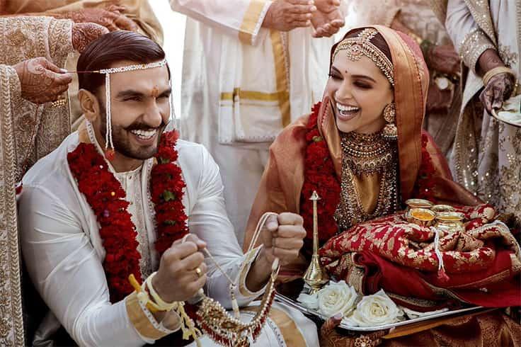 Deepika Padukone and Ranveer Singh Wedding