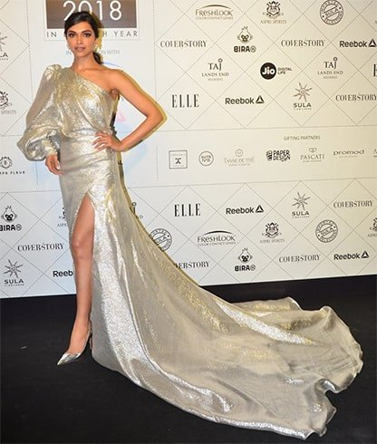 Deepika Padukone Elle Beauty Awards