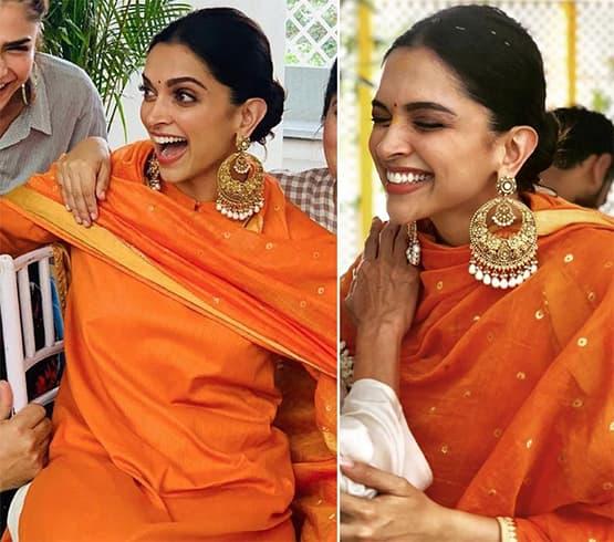 Deepika Padukone Ganesh puja