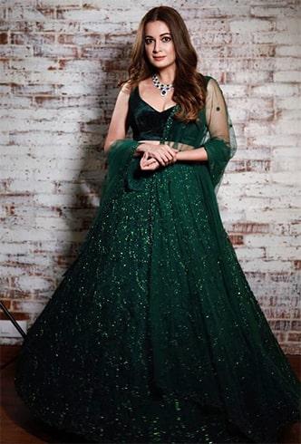 Dia Mirza at Deepika Ranveer Reception