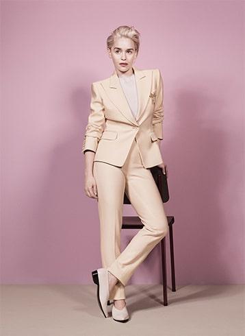 Emilia Clarke Emilia Clarke Emilia Clarke in Suit
