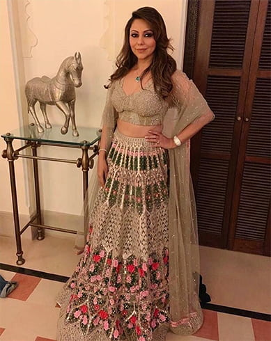 Gauri Khan at Isha Ambani Pre Wedding Celebrations