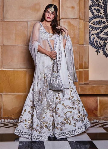 Jacqueline Fernandez at Isha Ambani Pre Wedding Celebrations