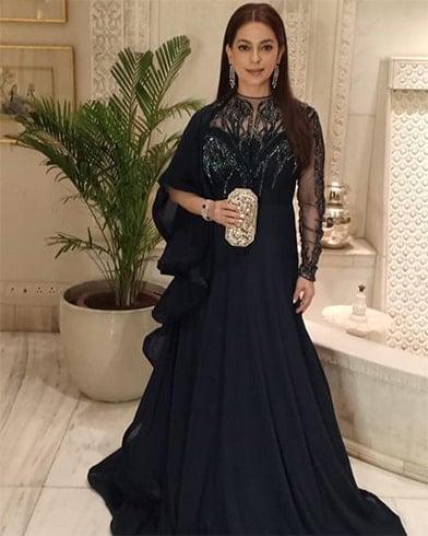 Juhi Chawla at Deepveer Reception