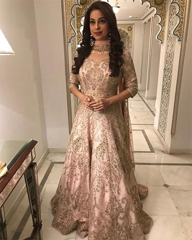 Juhi Chawla at Isha Ambani Pre Wedding Celebrations