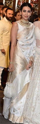 Karisma Kapoor at Isha Ambani Anand Piramal Wedding